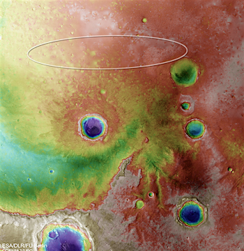 meridiani_planum_topography_with_schiaparelli_landing_ellipse