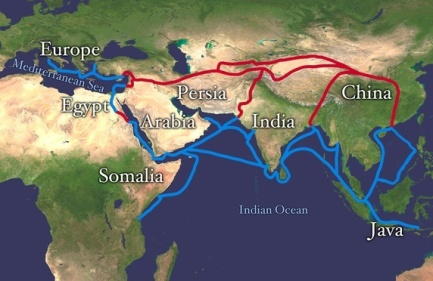 south-east-asia-trade-route