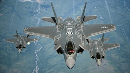 70 ARS Refuels F-35As